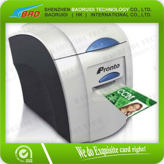 promotion!!! Smart single PVC ID card <strong>printers</strong> and free 1 roll color ribbon