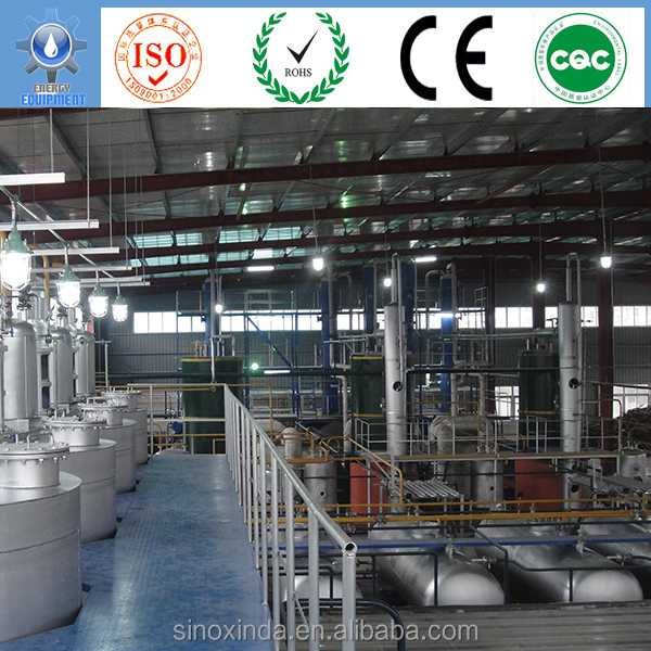 new furace deisgn distillation process used motor oil recycling plant for sale