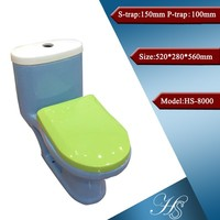 HS-8000 China factory bathroom one piece children size toilet