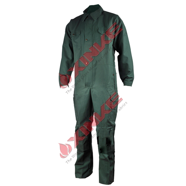 aramid IIIA flame prevention coverall