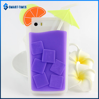 [Smart Times] Colorful Stylish Silicone Soft Phone Case for iPhone 5S