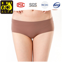 women panties 2016 Seamless tight Panty Girls Underwear 100% silk comfortable Panties