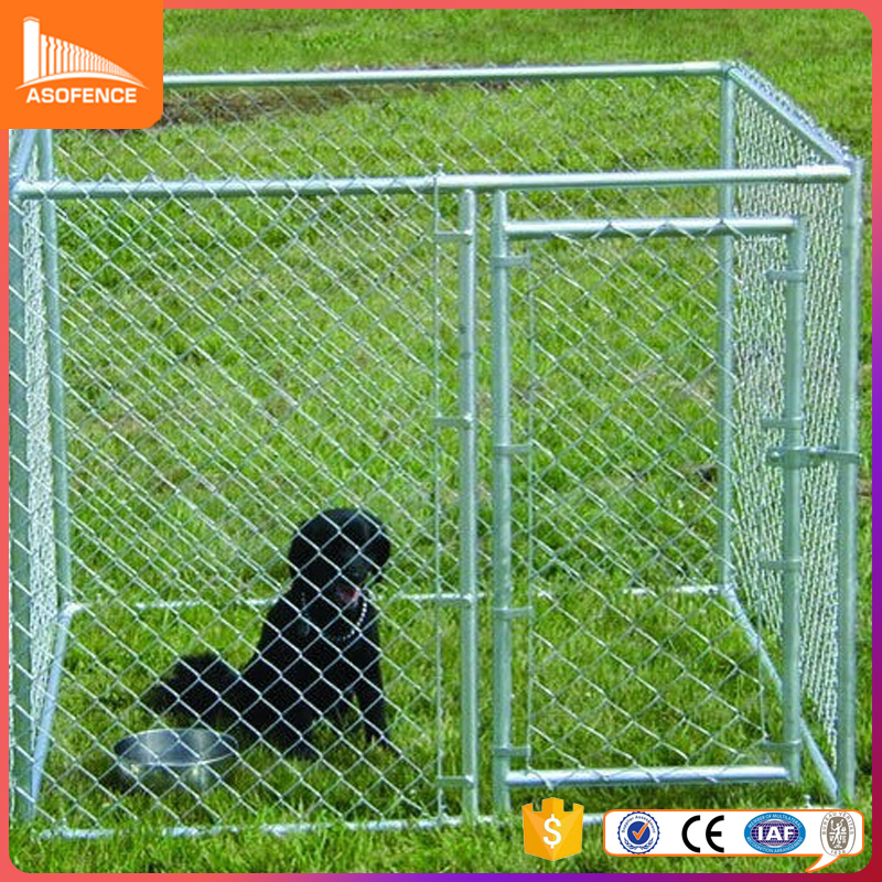 factory wholesale outdoor steel frame galvanized dog kennel buildings