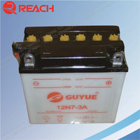 High Quality 12V Rechargeable Motorcycle Battery Short Charging Time