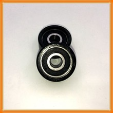 Shower door bearing wheels POM PU Plastic coated bearings