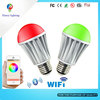 Bluetooth Wifi Led Bulb E27 3w/5w/7w/9w Indoor Light Color Changing Led Bulb Music Player Rgb Led Bulb