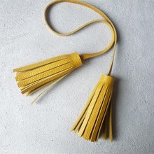 Genuine Leather Tassels. Wholesale Leather Tassels, Tasssel Keychain, Bag Tassel