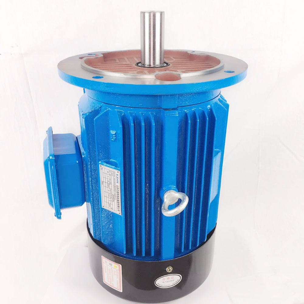 IE2 5.5KW 7.5HP 2 pole general industrial fan use 3 phase electric motor