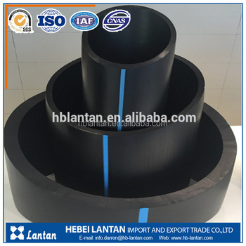 my test HDPE water supply pipe