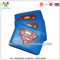 2014 cheap superman printed PU wallet