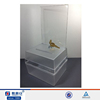 Frosted acrylic charity donation ballot tip box container