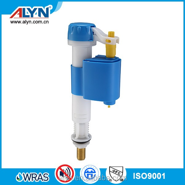 Sorth America toilet kitadjust bottom fill valve push button wire control siphon type cistern flush mechanism
