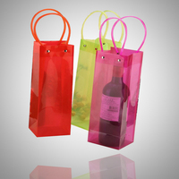 Plastic Carrying Wine Beer cooler pvc bag