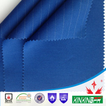 NFPA2112 test report 8.1 OZ 270gram 88% cotton 12%nylon flame retardant fabric for workwear