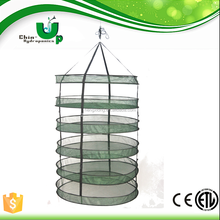 8 tiers herb hanging drying nets/ 8 tiers round herb drying rack/net/ aeroponic greenhouse dry net