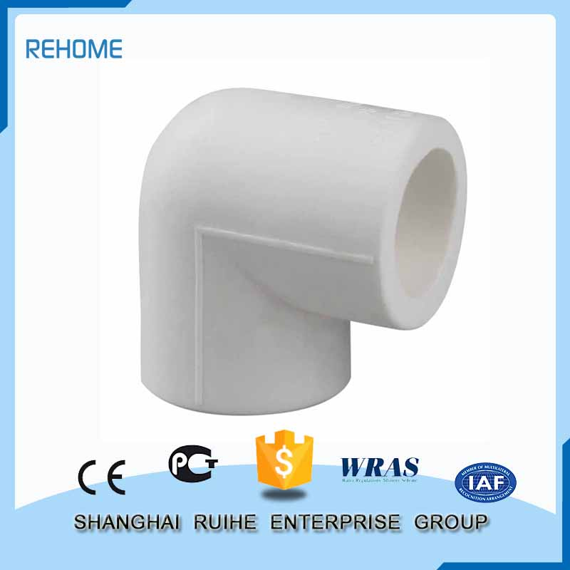 Fashionable patterns Specially design plastic plumbing pvc elbow 90 bend pipe fittings