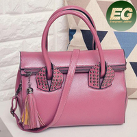 New arrival ladies satchel handbags famous designer studded shoulder bag SY7905