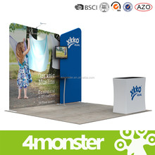 wholesale tension fabric aluminum trade show booth for advertising