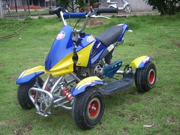 Factory directly sale 49cc mini 2 stroke quad ATV four wheels for kids