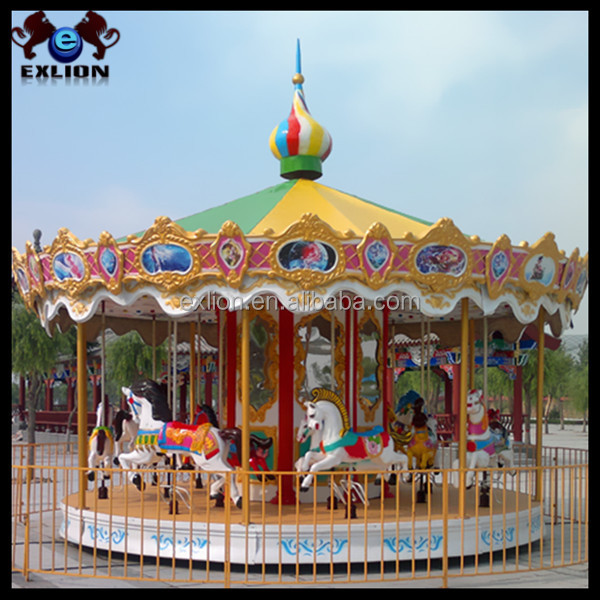 Carousel for sale/amusement rides carousel horses sale/carousel horse music box