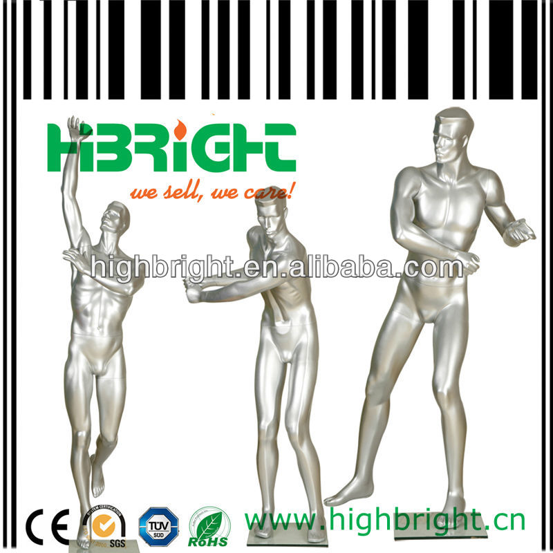 sport muscle male mannequins