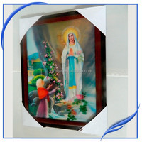 wall decoration religion 3d picture frame of jesus