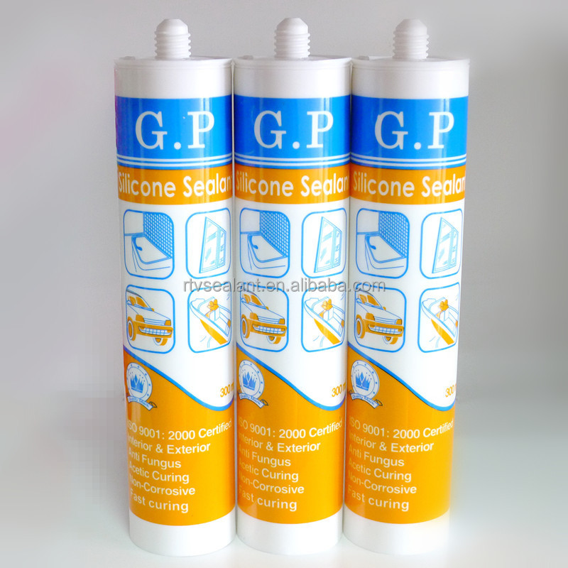 White general purpose silicone sealant,fast curing silicone sealant tube
