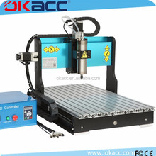 OKACC factory 1500w spindle motor 6040 3 axis USB2.0 port water sink hobby 3d cnc router engraver machine