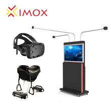 Best Price 9D VR Horse Riding Game Machine 2 Games Simulator Horse