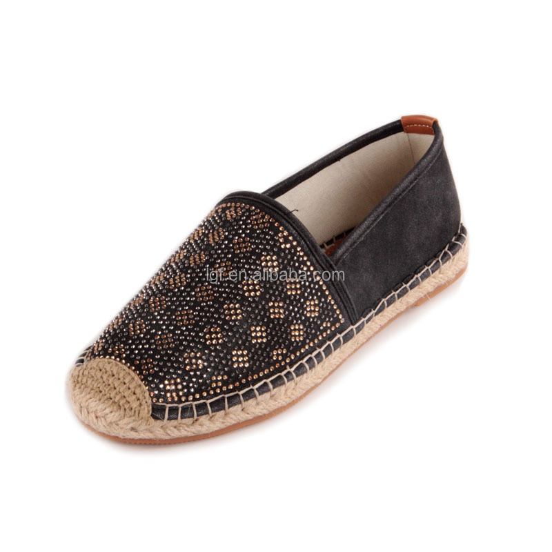 Factory Supply OEM Design jute sole shoes with good prices