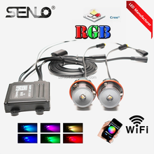 Top popular mobile wifi controller colors change RGBW e39 rgb color led angel eyes for bmw e60 e46 e38 e39 e36