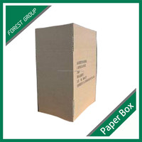 HIGH QUALITY 7 PLY CORRUGATED REFRIGERATOR MOVING CARTON PAPER BOX MADE IN CHINA