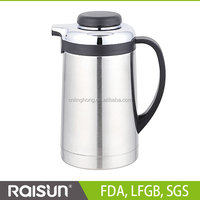 2014 high vacuum hot sell double wall electric kettles that boil milk 1200ML 1500ML 1800ML
