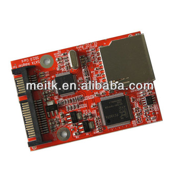 New SATA To SD SDHC Card Adapter Converter Card