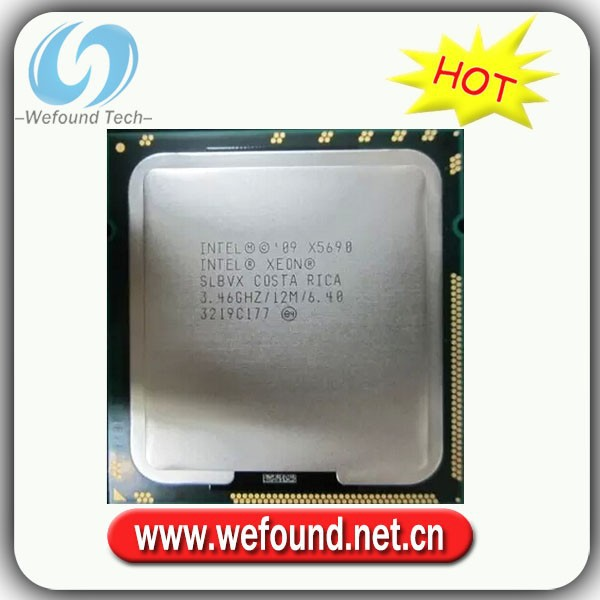 Intel XEON X5690 3.46G/12M 1366 needle official version