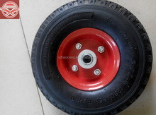 cheap and small pneumatic rubber wheel 300-4,small pneumatic tires and wheels for wheelbarrow