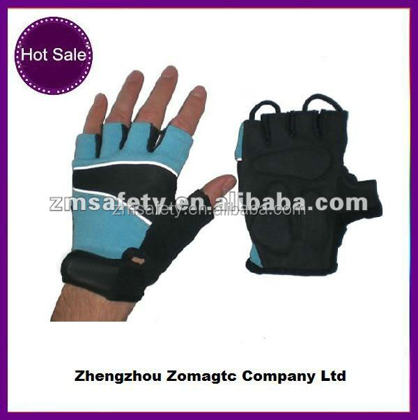 Anti-vibration motor bike cycling gloves with gel padded ZMR94