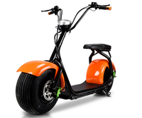 48v/60v 1000w/800w two wheels colorful customizable citycoco electric scooter