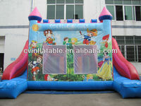 crown inflatable kids castle,jumping inflatable castle for rent