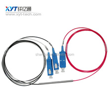 Low Insertion Loss FBT 1X2 850nm Multi Mode Optical Fiber Fbt Coupler