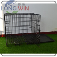 Flexible collapsible Wire Mesh Cat pet cage