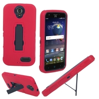 Hybrid Shockproof PC+Silicone Rugged Gel Super Durable Hard Cover Mobile Phone Case For ZTE X3