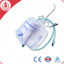 White Urine Collection Bag 2000ml With Volume Meter