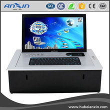 New ANXIN 15.6inch Motorized Flip Up LCD Lift For Board Table/Flip Up Monitor Lift Mechanism/conference system
