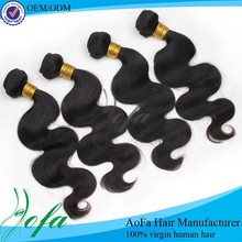 Hotsale 100% peruvian hair virgin peruvian hair hand weft