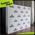 Fabric pop up backwall display stand