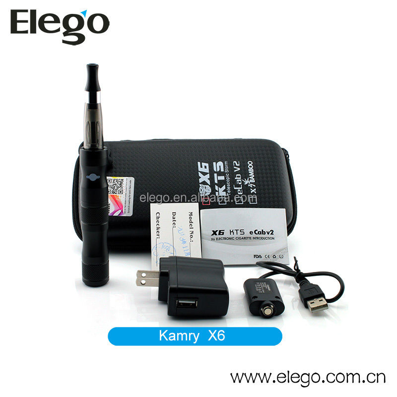 Huge vapor&high capacity original Kamry X6 kit from Shenzhen Elego