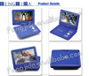 9 inch portable dvd player car dvd with dvd movie