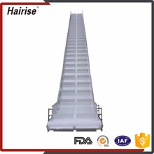 High quality stainless steel screw Modular Plastic Conveyor Belt