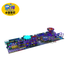 Space themes playland for small indoor playground equipment